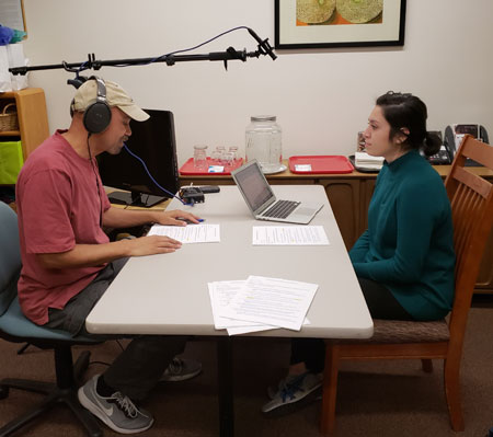 Maritza and Ian recording for web