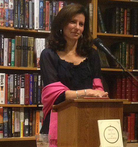 Photo of Andrea Hutton, author